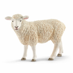 Schleich North America 13743 Toy Figure, White Sheep, Ages 3 & Up