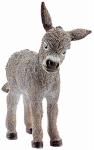 Schleich North America 13746 Toy Figure, Donkey Foal, Ages 3 & Up