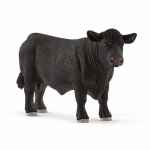 Schleich North America 13766 Toy Figure, Angus Bull, Ages 3 & Up