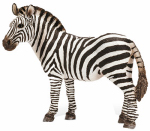 Schleich North America 14392 Toy Figure, Female Zebra, Ages 3 & Up