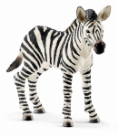 Schleich North America 14393 Toy Figure, Zebra Foal, Ages 3 & Up