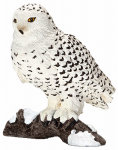 Schleich North America 14671 Toy Figure, Snowy Owl, Ages 3 & Up