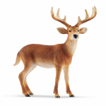 Schleich North America 14709 Toy Figure, Tailed Buck, Ages 3 & Up