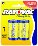"Spectrum/Rayovac 4C-2BF Heavy Duty ""C"" Batteries, 2-Pk."