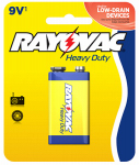 Spectrum/Rayovac D1604-1F Heavy Duty 9-Volt Battery
