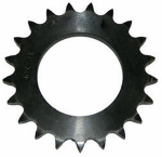 Double Hh Mfg 86020 V Series #35 Chain Sprocket, Hub V, 20 Teeth