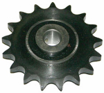 Double Hh Mfg 86108 Idler Sprocket, #40, 1/2-In. Bore, 17 Teeth