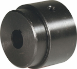 Double Hh Mfg 86188 Hub V Series Bore, 1/2-In. Round