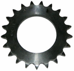 Double Hh Mfg 86424 24T #40 Chain Sprocket