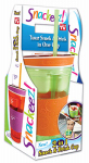 Idea Village Products SNAKZ Snackeez Drink & Snack Holder