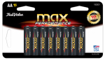 "Spectrum/Rayovac TV815-16CF2 Alkaline Batteries, ""AA"", 16-Pk."