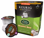 Keurig Green Mountain 114685 K-Cup Carafe Coffee, Green Mountain Breakfast Blend, 8-Ct.