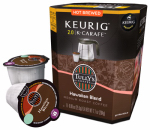 Keurig Green Mountain 114687 K-Cup Carafe Coffee, Tully's Hawaiian Blend, 8-Ct.