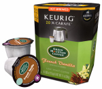 Keurig Green Mountain 114690 K-Cup Carafe Coffee, Green Mountain French Vanilla, 8-Ct.