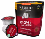 Keurig Green Mountain 114691 K-Cup Carafe Coffee, Eight O'Clock Coffee, 8-Ct.