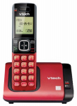 Vtech Communications CS6719-16 Cordless Phone System, Caller ID/Call Waiting, Red