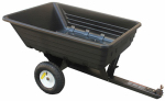 Ytl International YTL22111-4 Dump Cart, Poly, 10-Cu. Ft., 400-Lb. Capacity