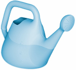 Bloem 434017-4004 Watering Can, Translucent Blue, 1-Gal.