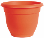 Bloem 462103-1001 Ariana Planter, Flamingo Orange, 10-In.