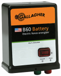 Gallagher North America G351504 Electric Fence Charger, B60, 0.6 Joules, 12-Volt