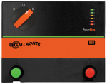 Gallagher North America G362504 Power Plus Battery Electric Fence Charger, B80, 0.8 Joules