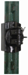 Gallagher North America G681034 Electric Fence Insulator, Snap-On, Black, 20-Pk.