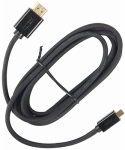 Audiovox VH6HMR Micro HDMI To HDMI Cable, 6-Ft.