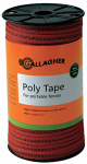 Gallagher North America G62314 Electric Fence Polytape, Orange, 1/16-In. x 656-Ft.