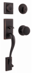 Kwikset 800HEXJ 11P SMT CP Signature Series Hawthorne Handleset, With Smart Key, Venetian Bronze