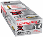 Winchester Ammunition X22MH Win 50RND 22JHP 40 Ammo