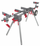 J S Products 67106 Bench Saw Job Station, Wheeled, 77-In.