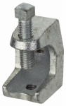 Thomas & Betts Z500-25 Beam Clamp, Malleable Iron, .25-In.