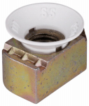 Thomas & Betts ZCM1001/2-10 Cone Nuts, Nylon, .5-In., 5-Pk.