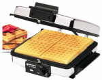 Applica/Spectrum Brands G48TD Waffle Maker/Griddle, Stainless Steel, 1200-Watt