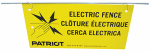 Tru Test 809700 Electric Fence Warning Sign, 10-Pk.