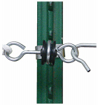 Tru Test 814210 Electric Fence Gate Anchor, T-Post, 2-Pk.
