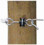 Tru Test 814212 Electric Fence Gate Anchor, Wood-Post, 2-Pk.