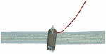 Tru Test 814702 Electric Fence Tape-to-Energizer Connector