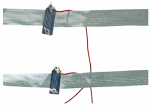 Tru Test 814822 Electric Fence Insulator, Wide Tape, 1.5-In.