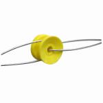 Tru Test 819054 Electric Fence Insulator, Corner Bobbin, 10-Pk.