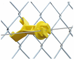 Tru Test 819056 Electric Fence Insulator, Chain Link Extender, 3.5-In., 25-Pk.