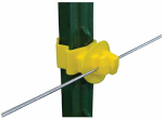 Tru Test 820016 Electric Fence Insulator, T-Post Claw, 25-Pk.