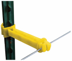 Tru Test 820022 Electric Fence Insulator, Front T-Post Extender, 5-In., 25-Pk.
