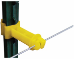 Tru Test 820029 Electric Fence Insulator, T-Post Extender, 2-In., 25-Pk.