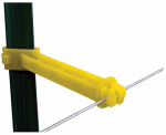 Tru Test 820036 Electric Fence Insulator, Back T-Post Extender, 5-In., 25-Pk.