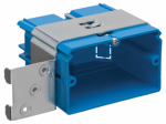 Thomas & Betts B121ADJH Adjust-A-Box Electrical Box, Horizontal Single-Gang, Non-Metallic