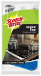 3M SBUS-PS-GC Stovetop 2-In-1 Cleaning Pad