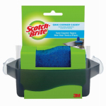 3M CTH-NS Kitchen Sink No-Scratch Sponge & Corner Caddy