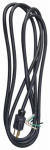 Ho Wah Gentin Kintron Sdnbhd 09709ME 9-Ft. 16/3 SJTW Black Power Supply Replacement Cord