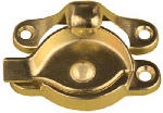 National Mfg/Spectrum Brands Hhi N148-684 Window Sash Lock, Bright Brass Finish